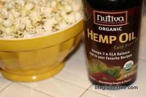 hemp oil popcorn