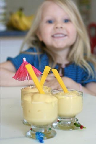 dairy-free mango smoothie