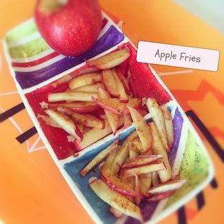 gluten-free apple fries