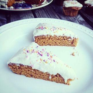 gluten-free pumpkin spice cake
