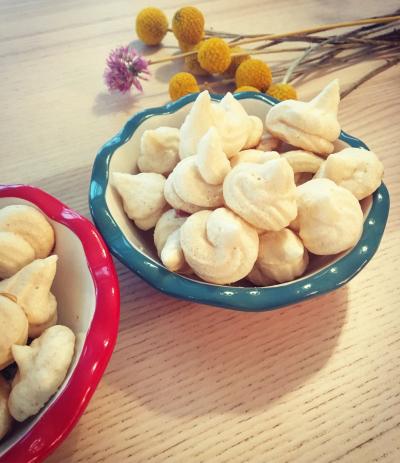 maple meringues